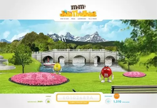 M&M's Join the Hunt