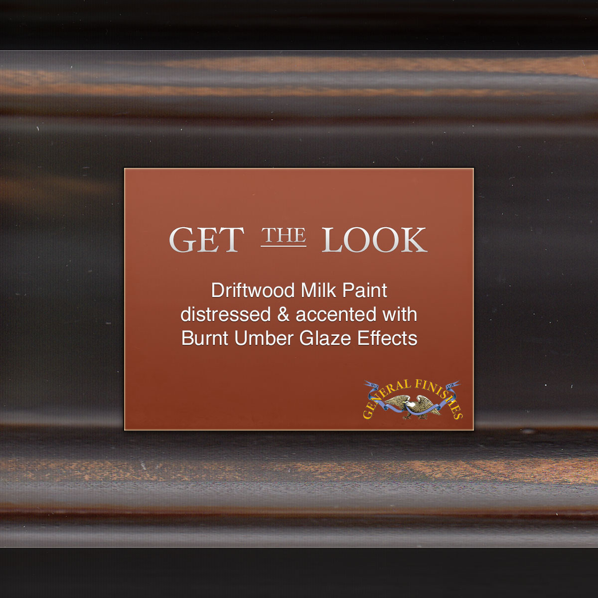 Get The Look Driftwood Hand Distressed With Burnt Umber