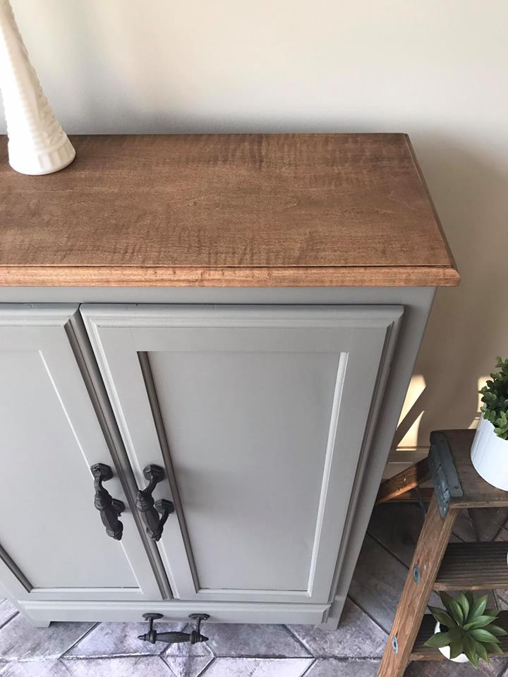 Cabinet In Custom Color Of Driftwood Amp Millstone General