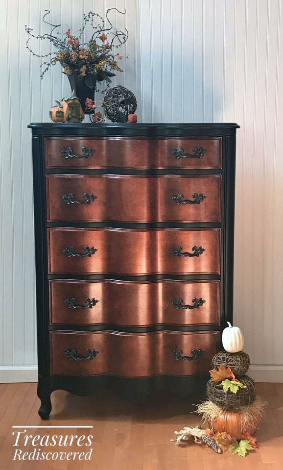 Copper Pearl Effects Dresser General Finishes Design Center