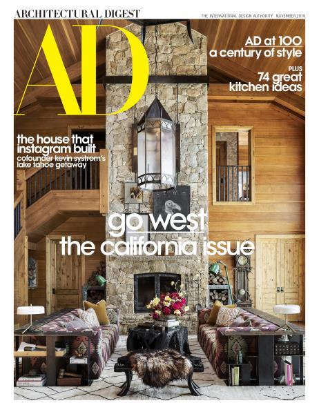 Architectural Digest Cover