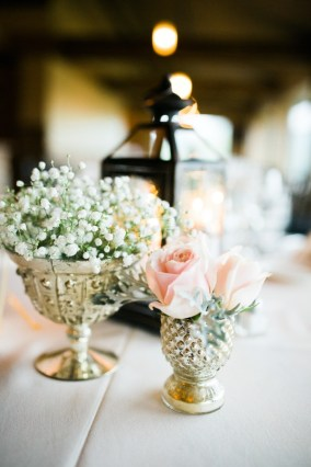 pretty pink reception centerpieces by chicagoland florist