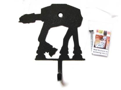 metal star wars at at wall hooks, star wars wall art