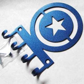 metal captain america wall hooks, captain america sign
