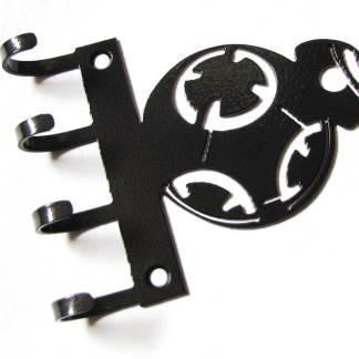 metal bb8 wall hooks, star wars sign