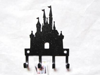 metal princess castle wall hooks