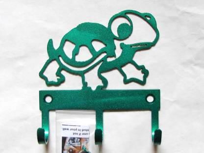 metal baby turtle wall hooks