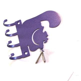 metal cheshire cat wall hooks, key hooks