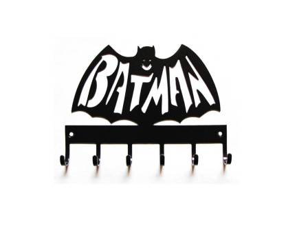 metal batman with name spelled out, superhero wall art