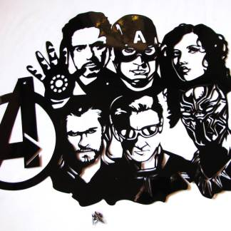 Avengers Collage Wall Art