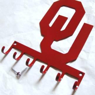 metal ou logo wall hooks, ou sign