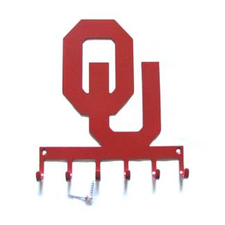 metal ou logo wall hooks, ou sign
