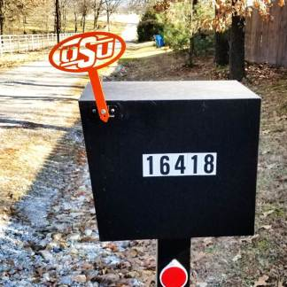 OSU Mail Box Flag