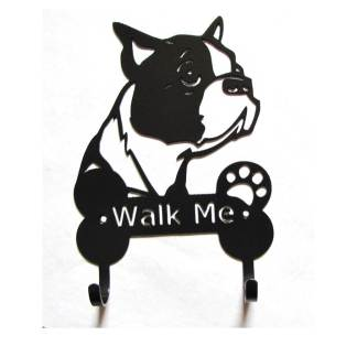 boston terrier leash hooks leash holders