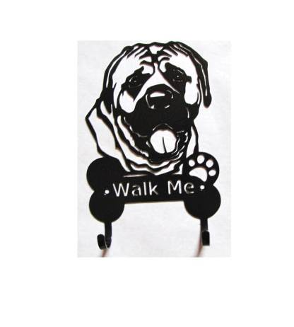 2 leash hooks english mastiff