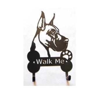 great dane metal leash hooks leash holder