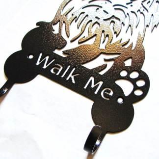 yorkie metal leash hooks leash holder