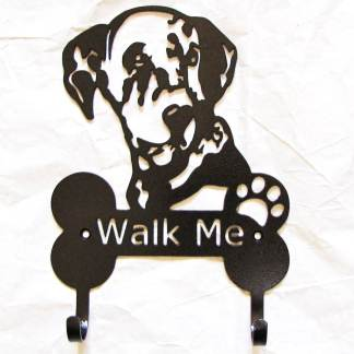 dalmation metal leash hooks