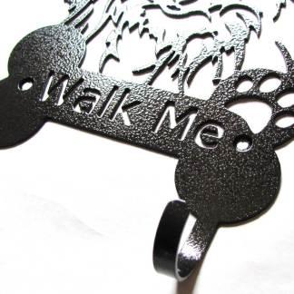 pomeranian metal leash hooks leash holder