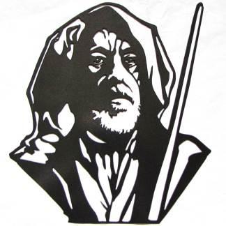Star Wars Obi-Wan Kenobi Metal Art