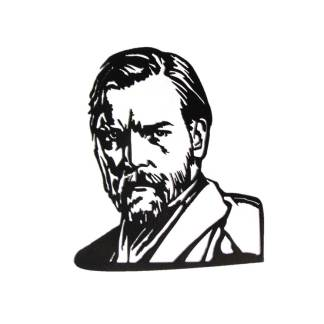 star wars obi-wan kenobi metal wall art