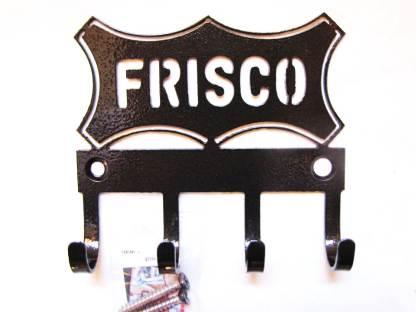 Frisco Logo Metal Wall Hooks, key holder