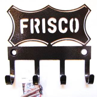 Frisco Logo Metal Wall Hooks, key holder