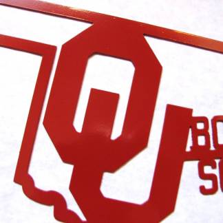 ou boomer soooner wall sign