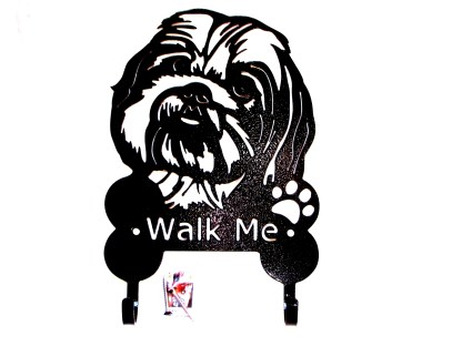 metal pekingese leash hooks leash holder