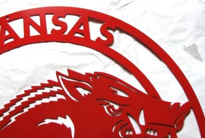 "Arkansas Razorbacks 24"" circle"