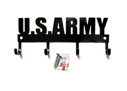united states army metal wall hooks