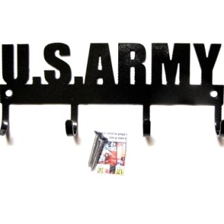 united states army metal wall hooks