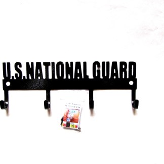 united states national guard metal wall hooks