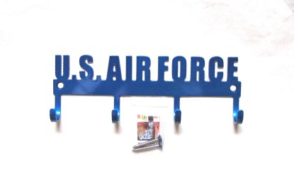 united states air force metal wall hooks