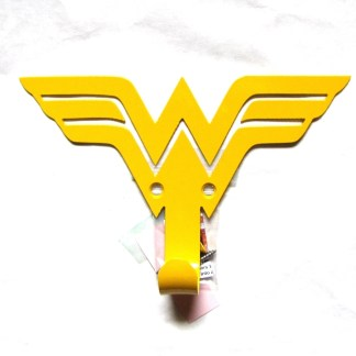 metal wonder woman wall hooks, wonder woman wall art