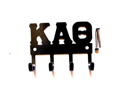 sorority kappa alpha theta metal wall hooks