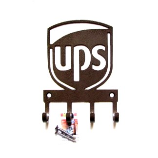 metal UPS wall hooks key holder
