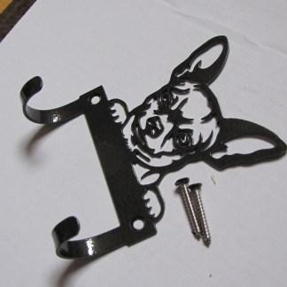 metal chihuahua leash hooks leash holder