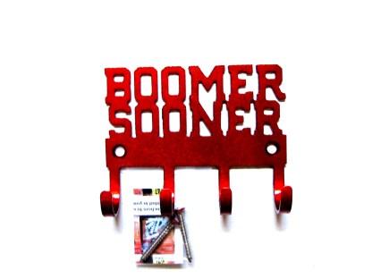 metal ou boomer sooner sign, metal ou boomer sooner wall hooks,