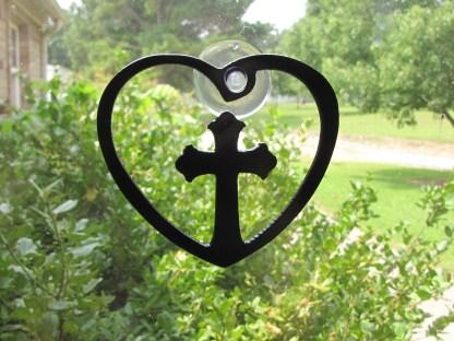 window art cross