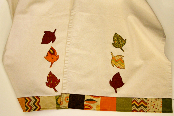 Moda toweling with appliques