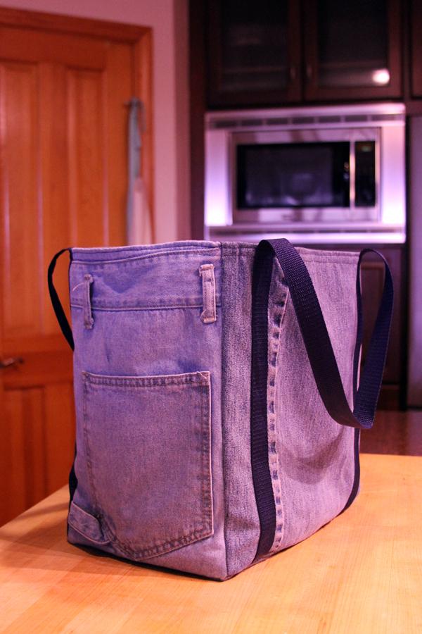 finished shopping bag