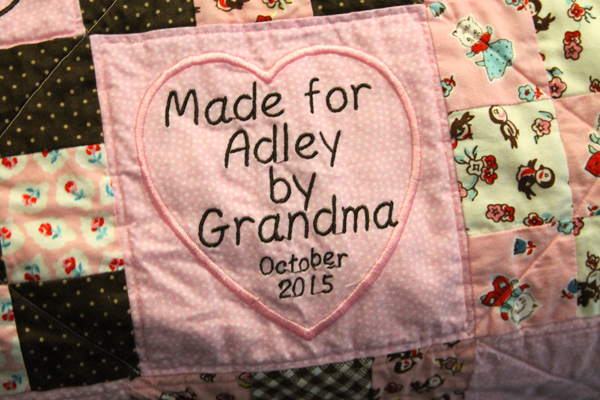 Made for Adley Block
