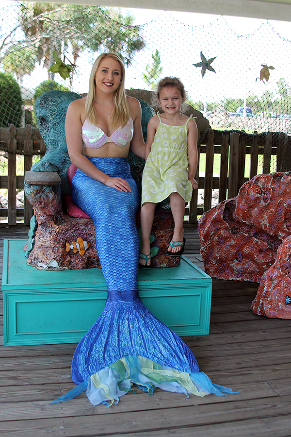 Mermaid from Weeki Wachee