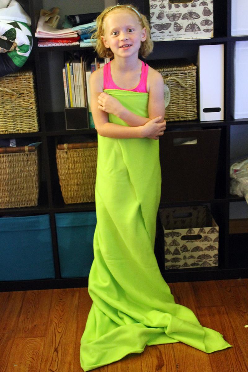 DIY Mermaids Tail