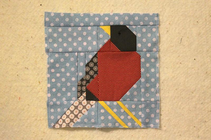 Block 84, Early Bird, The Splendid Sampler