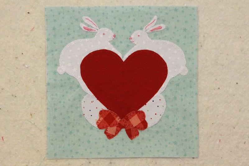 Bonus Block, Easter Bunnies, The Splendid Sampler