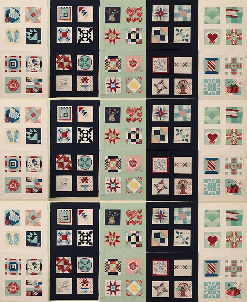 Splendid Sampler Layout 3