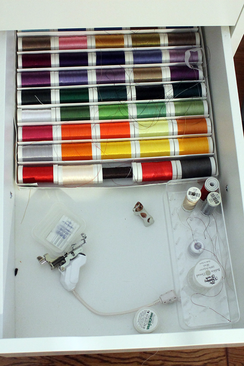 Let's Get Organized -- Thread Drawer, Part 2