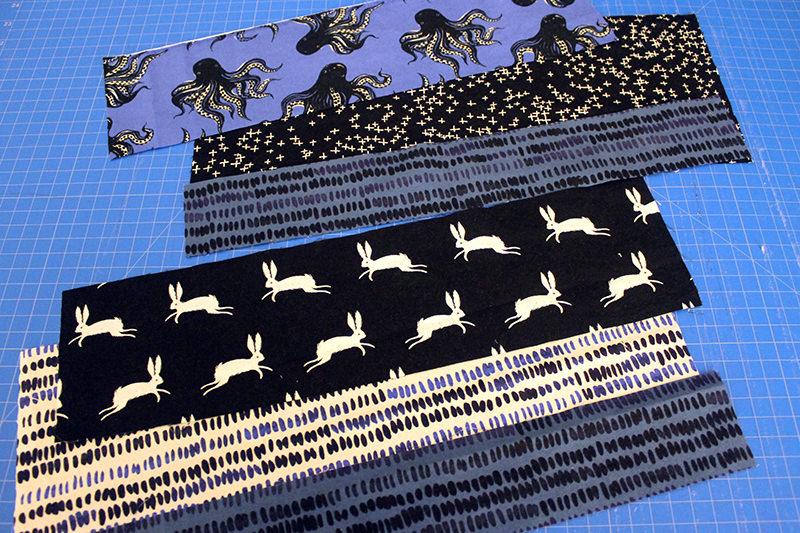 fabric strips